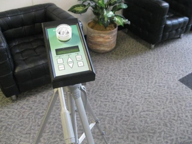 zefon bio pump to detect mould in room